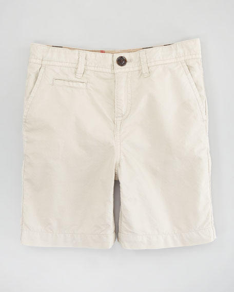 Lightweight Cotton Shorts, Trench