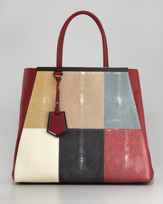 Fendi 2Jours Stingray Tote Bag