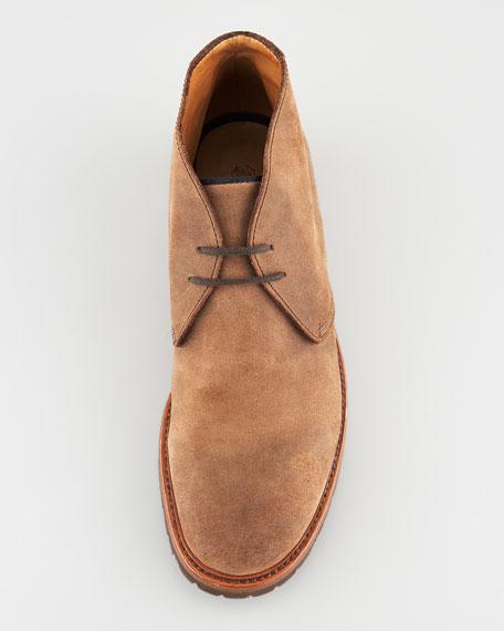 Aged Leather Chukka