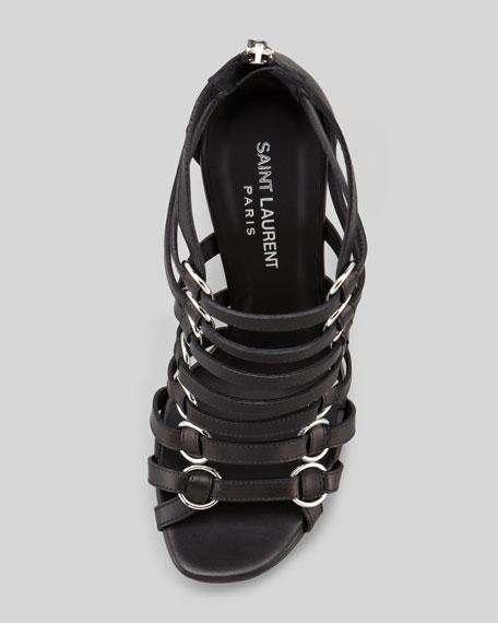 Nina Caged Platform Sandal