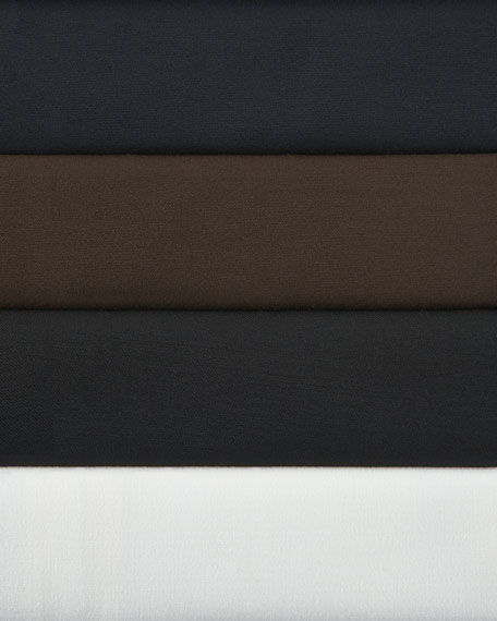 Stretch Wool Menswear Pants
