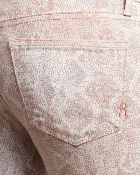 Legacy Boa-Print Skinny Jeans
