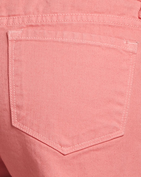 Cutoff Shorts, Coral