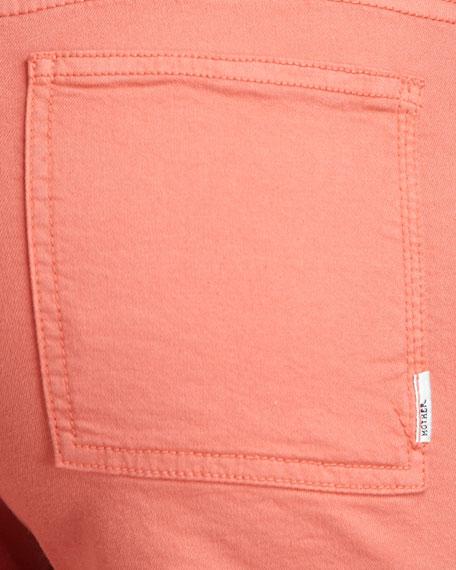 Patch-Pocket Denim Shorts