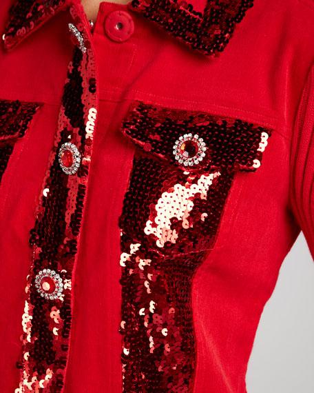 Dark in Fall Knit Jacket, Women's