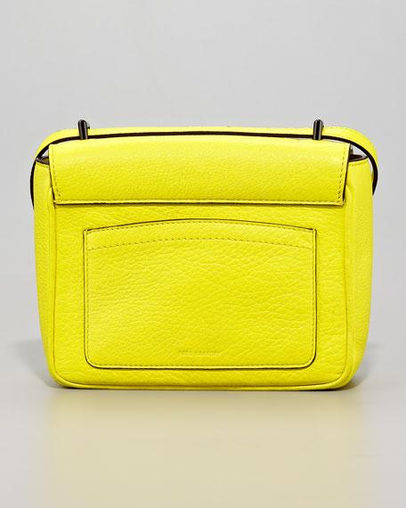 Mini Shoulder Bag, Solar or Cerise