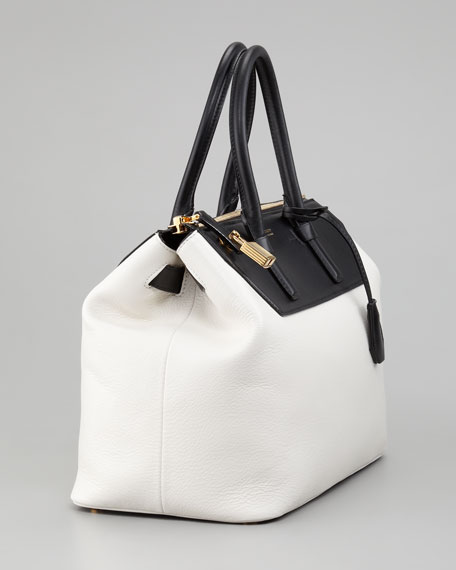 Two-Tone Medium Petra Bag