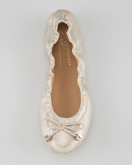 Dance Shimmer Ballerina Flat