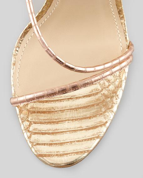 Labrea Hologram Snake Sandal