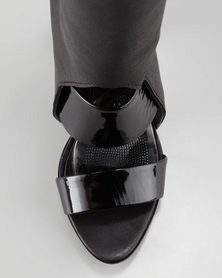 Runway Ora Over-the-Knee Boot, Black