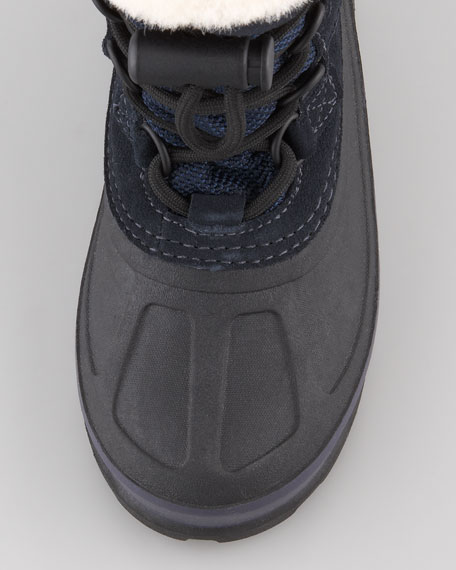 Bobbey Snow Boot, Navy, Youth