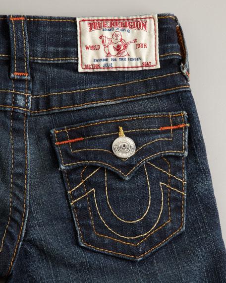Julie True Grit Skinny Jeans