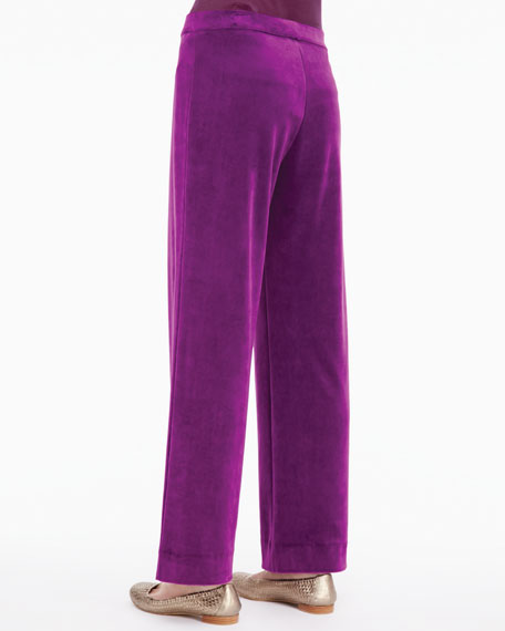 Solid Velour Pants