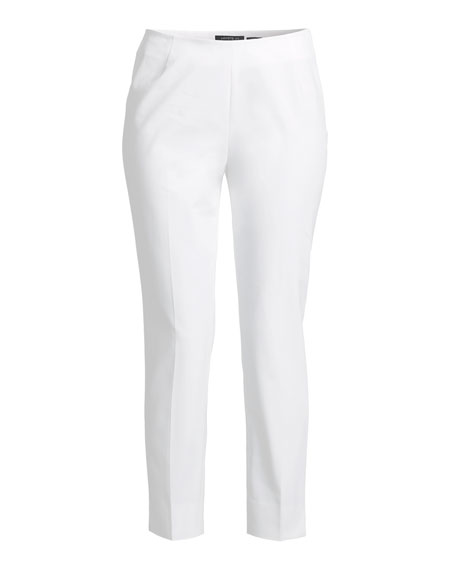 Image 4 of 4: Lafayette 148 New York Stanton Cropped Ankle Pants