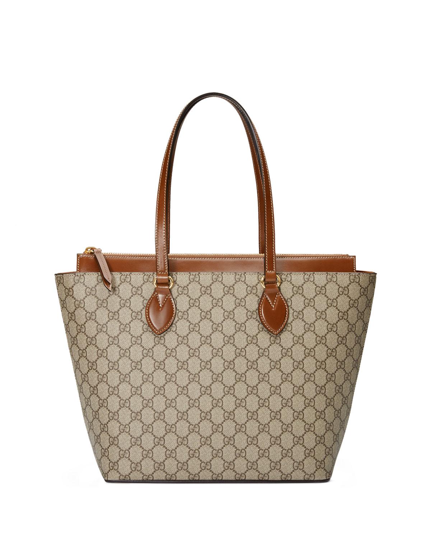 e5a4f03ba42e4 Gucci GG Supreme Medium Tote Bag