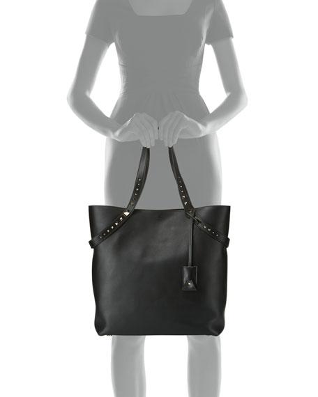 Lovestud Leather Tote Bag