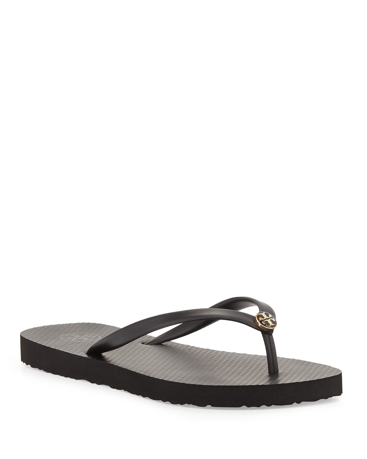 26fc0b04d19a77 Quick Look. Tory Burch · Logo Rubber Flip-Flop. Available in Black