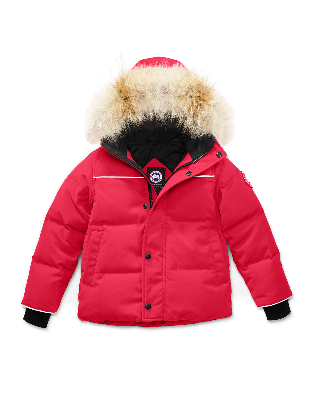 a992cf22100c Canada Goose Kids  Snow Owl Parka w  Removable Fur Trim