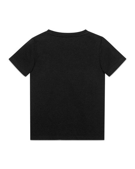 Gucci Gucci Logo T-Shirt, Size 4-12