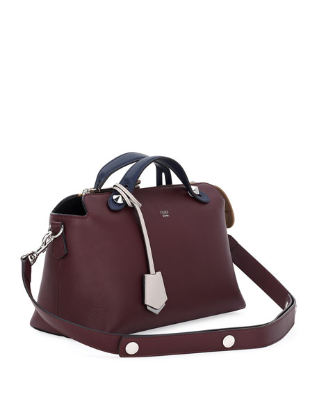 Image 2 of 3: By The Way Small Colorblock Leather Satchel Bag