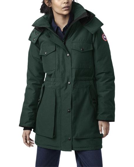 Canada Goose Gabriola Hooded Parka Coat w/ Reflective