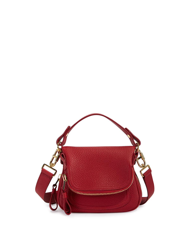 8d89b20d7a TOM FORD Jennifer Mini Grained Leather Shoulder Bag