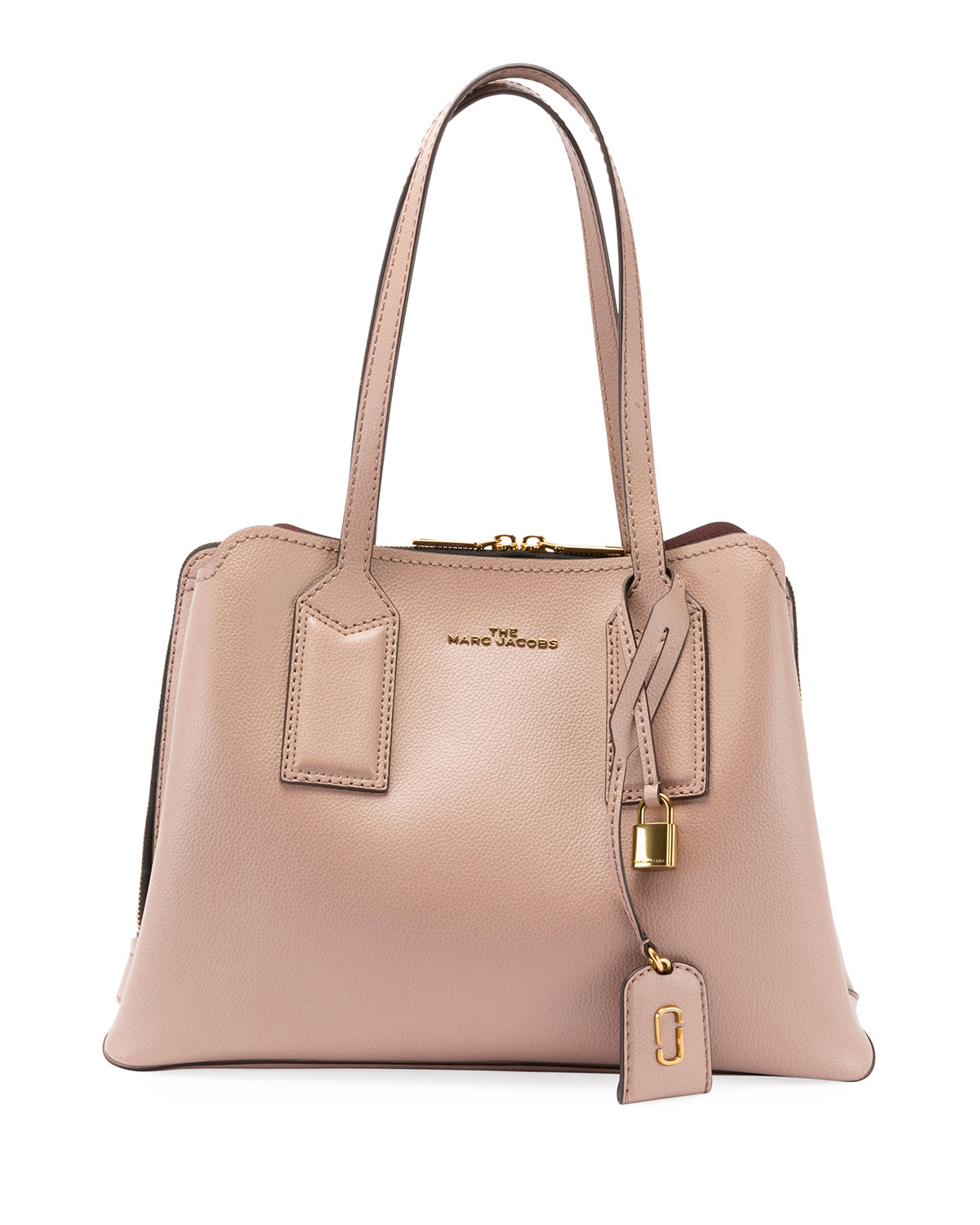 26380f7dfe Marc Jacobs The Editor Large Pebbled Leather Tote Bag | Neiman Marcus