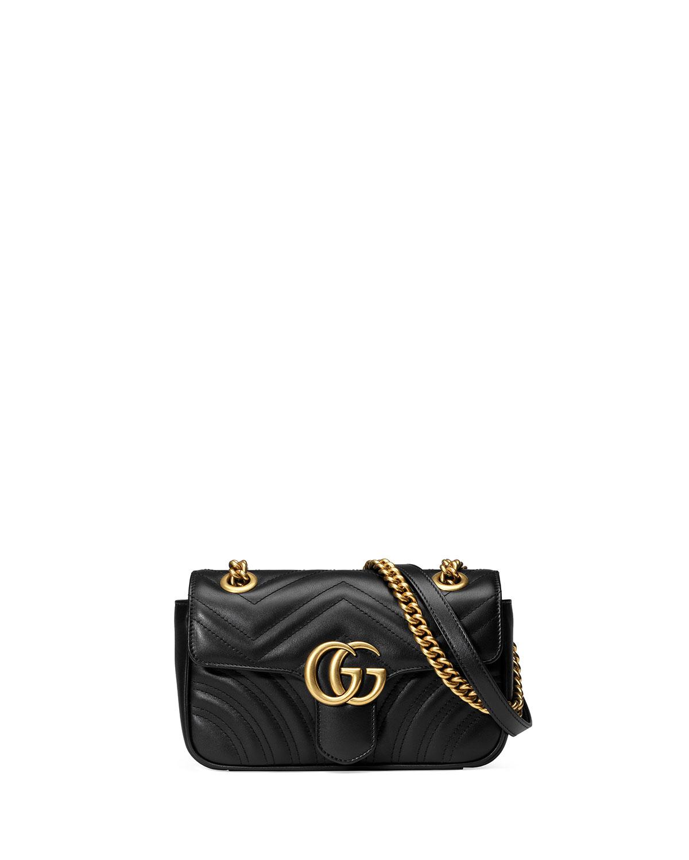5a5218165c96 Gucci GG Marmont 2.0 Mini Matelasse Shoulder Bag | Neiman Marcus