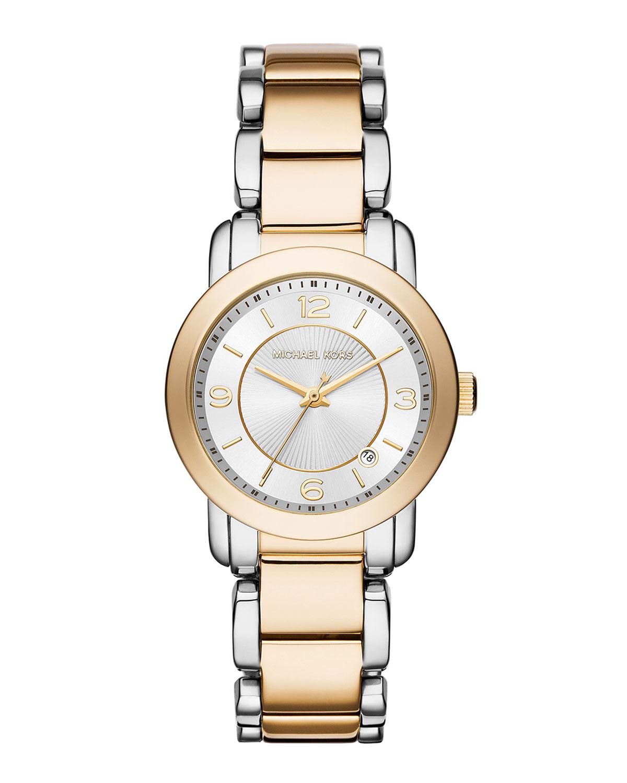 eb4366dc31b8 MICHAEL Michael Kors Janey 33mm Stainless Steel Bracelet Watch ...
