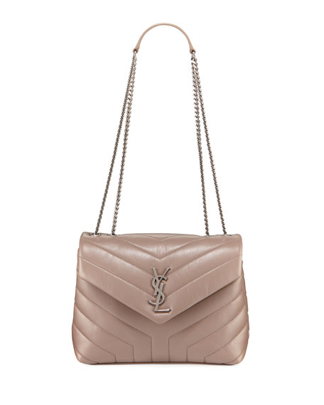 Image 1 of 4: Loulou Monogram YSL Small Chain Bag