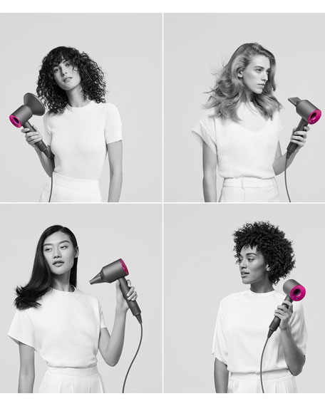 Image 4 of 5: Dyson Dyson Supersonic&#153 Hair Dryer in Fuchsia