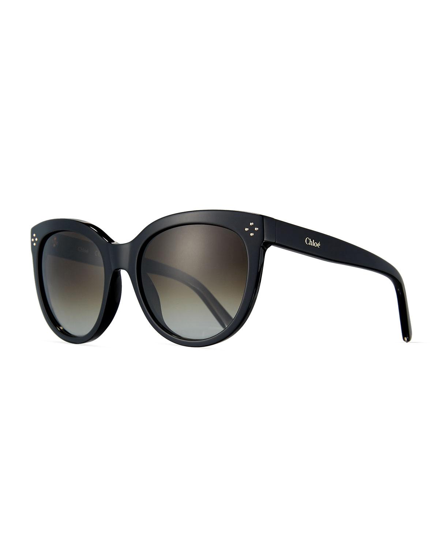 dd056c402c Chloe Boxwood Modified Cat-Eye Sunglasses