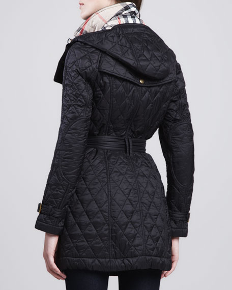 Finsbridge Hooded Quilted Jacket
