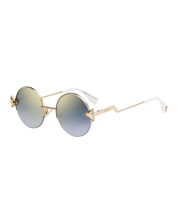 96084624fb Fendi Rainbow Round Sunglasses