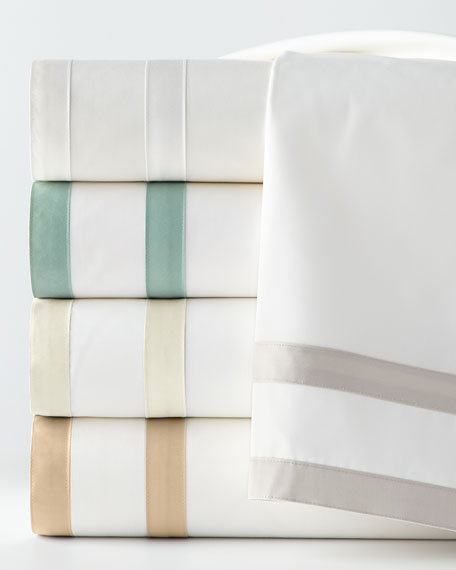 Matouk King 350 Thread Count Marlowe Sheet Set