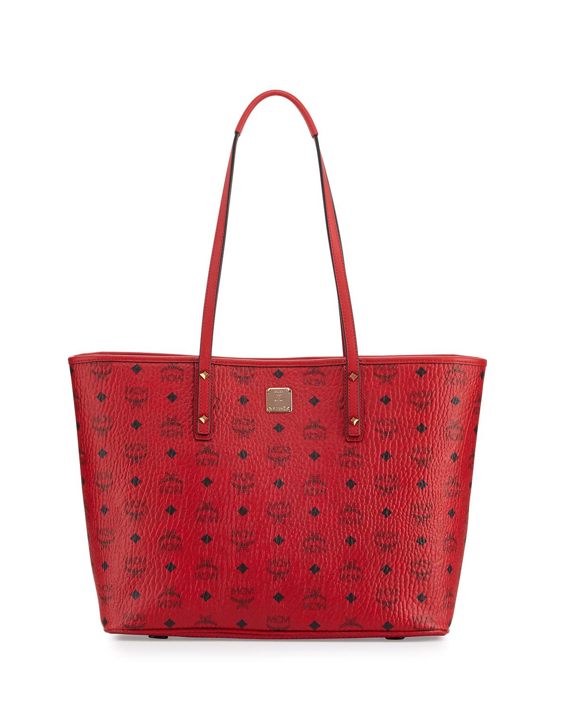 8d973d2cc0 MCM Anya Medium Top-Zip Shopper Bag