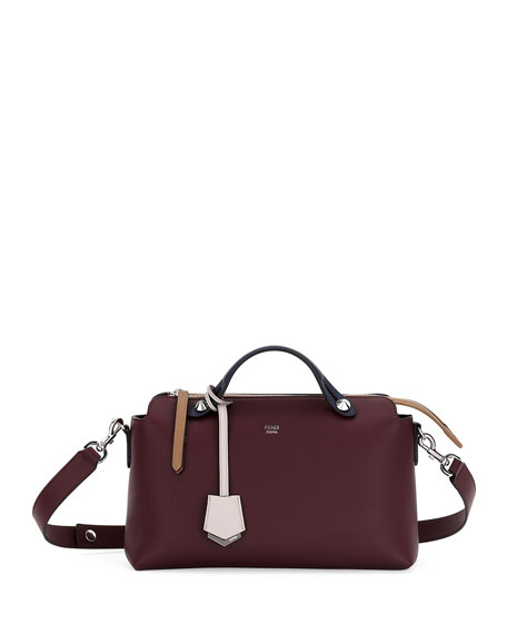 Image 1 of 3: By The Way Small Colorblock Leather Satchel Bag