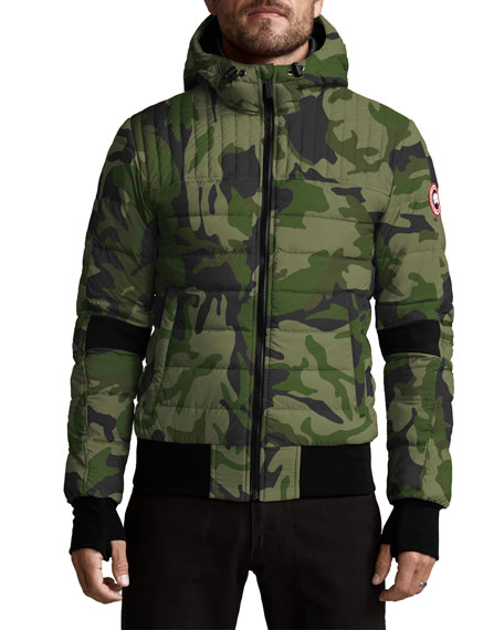Image 1 of 3: Canada Goose Men's Cabri Quilted Hoodie Jacket
