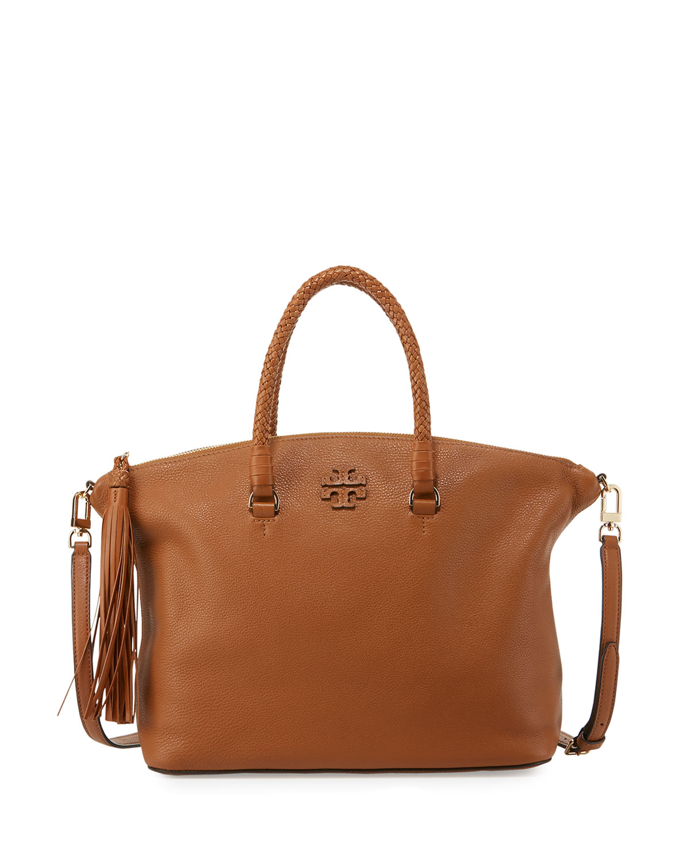 4519d67a4464 Tory Burch Taylor Leather Satchel Bag