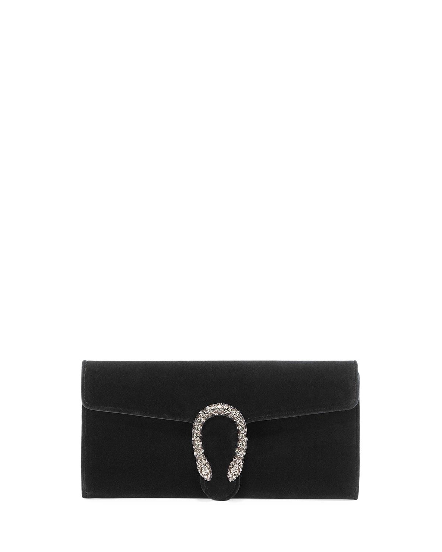 a46e8619d4a Gucci Dionysus Velvet Clutch Bag