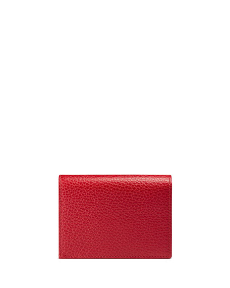 Image 3 of 4: GG Marmont Leather Card Case
