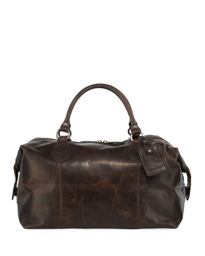Logan Men's Leather Overnight Bag