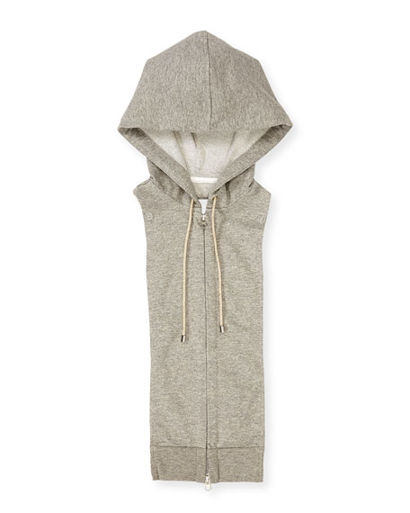 Veronica Beard Classic One-Button Jacket & Knit Hoodie