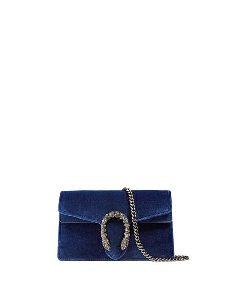 9911fb7914fa Gucci Dionysus Velvet Super Mini Bag | Neiman Marcus