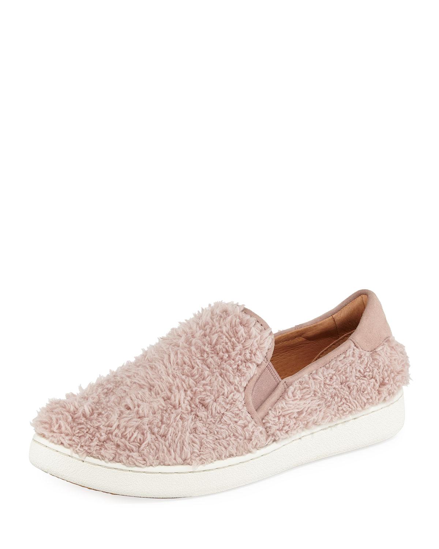 Ricci Faux-Fur Slip-On Sneaker