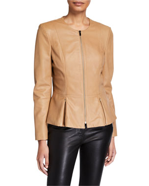 4890fa4b3 Leather Jackets & Coats for Women at Neiman Marcus