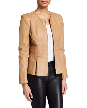 8c936f1e9 Leather Jackets & Coats for Women at Neiman Marcus
