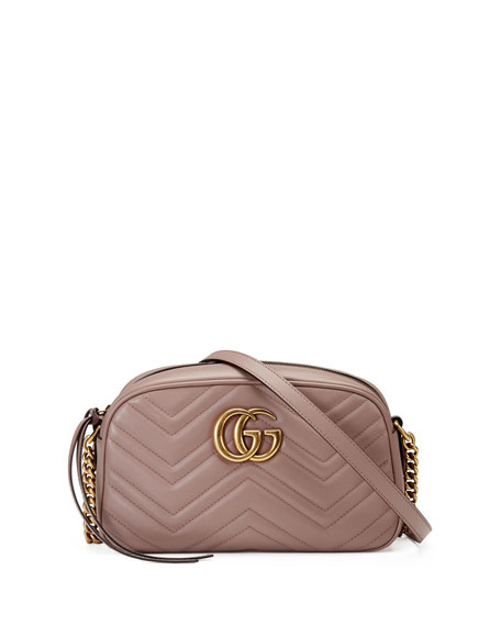 5c325269ff1 Gucci GG Marmont Small Quilted Camera Bag