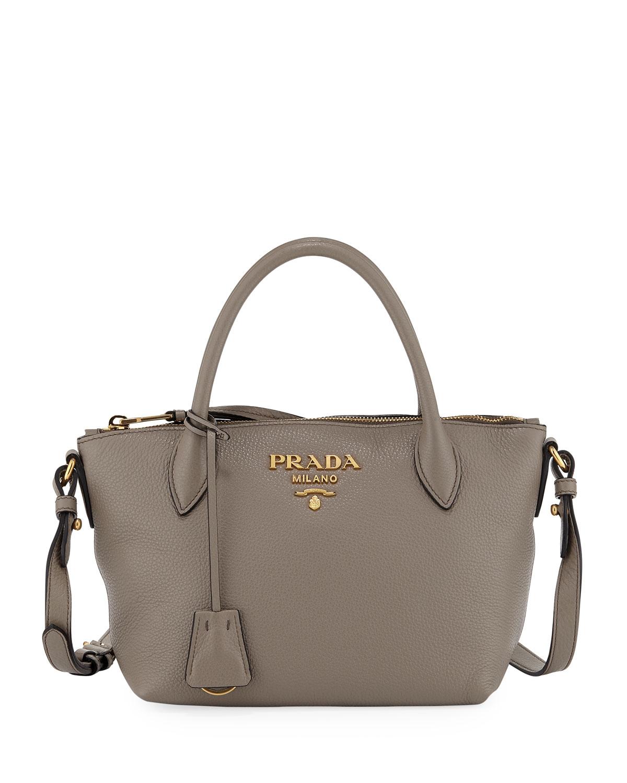 4f5c0af3e844d1 Prada Small Daino Tote Bag | Neiman Marcus