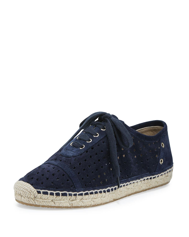 c2078e87b4d Jimmy Choo Dara Star-Perforated Espadrille Sneaker